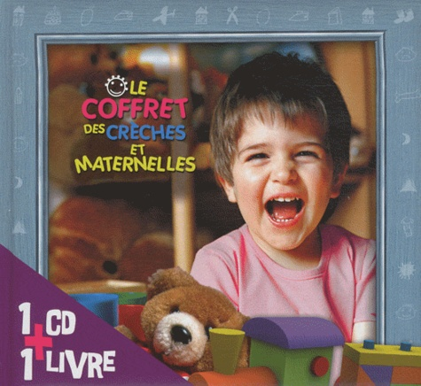 Rémi Guichard - Le coffret des crèches et maternelles. 1 CD audio