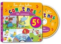 Rémi Guichard et Marie-Pierre Tiffoin - Les plus belles comptines des animaux. 1 CD audio