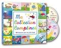 Rémi Guichard et Marie-Pierre Tiffoin - Ma collection comptines - 100 chansons pour les p'tits loups. 2 CD audio MP3