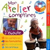 Rémi Guichard - Mon atelier comptines. 1 CD audio