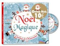 Rémi Guichard et Coralline Pottiez - Noël magique - Contes et chansons. 1 CD audio