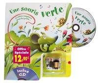 Rémi Guichard et Bruno Robert - Une souris verte et autres comptines pour les petits.... 1 CD audio