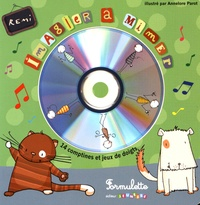 Rémi et Annelore Parot - Imagier à mimer. 1 CD audio