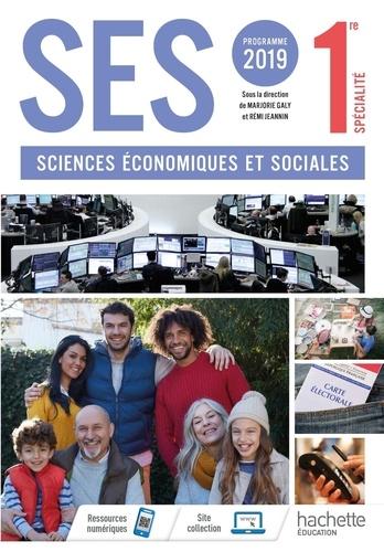 Rémi Jeannin et Marjorie Galy - Sciences économiques et sociales 1re spécialité.