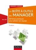Rémi Juët - La boîte à outils du manager - 50 fiches pratiques pour piloter son équipe.