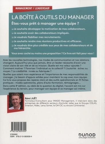 La boîte à outils du manager. 51 fiches pratiques pour piloter son équipe 4e édition