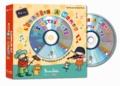 Rémi et Annelore Parot - L'imagier à mimer des instruments. 1 CD audio