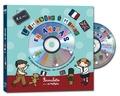 Rémi et Kate Combault - L'imagier à mimer en anglais. 1 CD audio