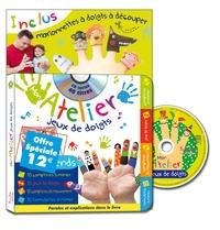 Rémi - Mon atelier jeux de doigts - Avec des marionnettes à doigt à découper. 1 CD audio