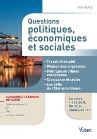Questions politiques économiques et sociales - Rémi Pérès |