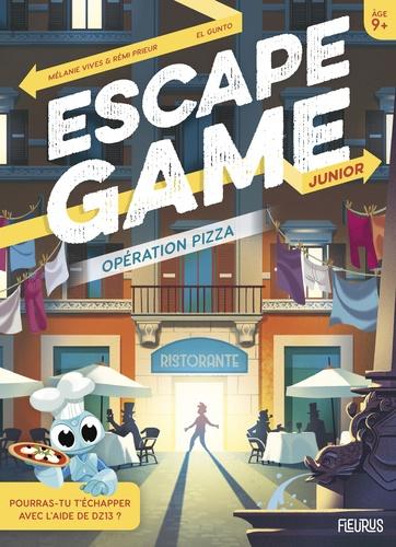 Escape Game Junior Operation Pizza Grand Format