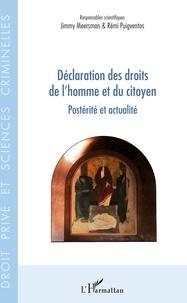 Déclaration des droits de l'homme et du citoyen- Postérité et actualité - Remi Puigventos |