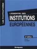 Rémi Raher - L'essentiel des institutions européennes.