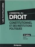 Rémi Raher - L'essentiel du droit constitutionnel et des institutions politiques.