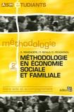 Rémi Remondière et Patrick Refalo - Méthodologie en économie sociale et familiale.