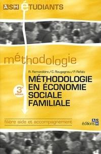 Rémi Remondière et Corinne Rougagnou - Méthodologie en économie sociale familiale.