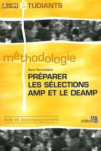 Rémi Remondière - Préparer les sélections AMP et le DEAMP.