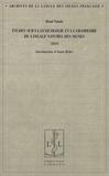 Rémi Valade - Etudes sur la lexicologie et la grammaire du langage naturel des signes.