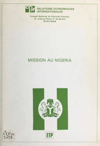 Mission au Nigéria. 19-23 octobre 1981