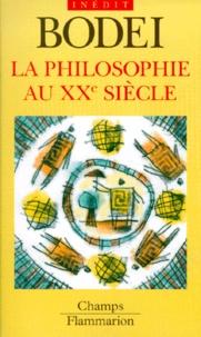Remo Bodei - La philosophie au XXe siècle.