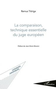 Deedr.fr La comparaison, technique essentielle du juge européen Image