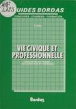 Rémy Ball - Vie civique et professionnelle.