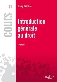 Meilleures ventes e-Books: Introduction générale au droit  9782247170012 in French par Rémy Cabrillac