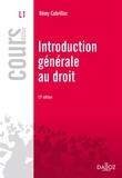 Rémy Cabrillac - Introduction générale au droit.