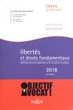 Rémy Cabrillac - Libertés et droits fondamentaux - Maîtrise des connaissances et de la culture juridique.