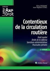 Contentieux de la circulation routière - Rémy Josseaume pdf epub