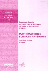 Era-circus.be CAPLP Mathématiques Sciences Physiques - Concours interne et CAER Image
