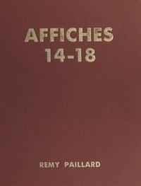 Rémy Paillard et Thierry Maulnier - Affiches 14-18.