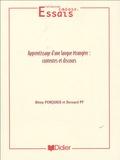 Rémy Porquier et Bernard Py - Apprentissage d'une langue étrangère : contextes et discours.