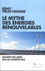 Histoiresdenlire.be Le mythe des énergies renouvelables - Quand on aime on ne compte pas Image