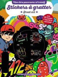 Rémy Tornior - Stickers à gratter Street art - Avec 20 stickers à gratter et 1 bâtonnet.