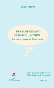 Rémy Volpi - Développement durable : action - La gouvernance de l'entreprise.