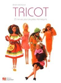 Rénate Bagnoud - Tricot - 25 tenues pour poupées-mannequins.