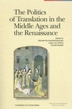 Renate Blumenfeld-Kosinski et Luise von Flotow - The Politics of Translation in the Middle Ages and the Renaissance.