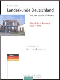 Renate Luscher - Landeskunde Deutschland - Von der Wende bis heute.