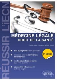 Médecine légale- Droit de la santé - Renaud Bouvet pdf epub