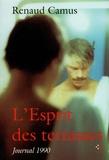 Renaud Camus - L'esprit des terrasses - Journal 1990.