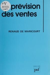 Renaud de Maricourt - La Prévision des ventes.
