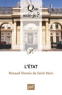 Renaud Denoix de Saint Marc - L'Etat.