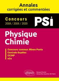 Renaud Pochet et Wenqi Shu-Quartier-dit-Maire - Concours Physique-Chimie PSi 2018 / 2019 / 2020 - Concours commun Mines-Pont, Centrale Supélec, CCINP, e3a.