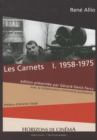 Deedr.fr Les carnets - Tome 1, 1958-1975 Image