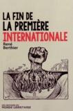 René Berthier - La fin de la première internationale.