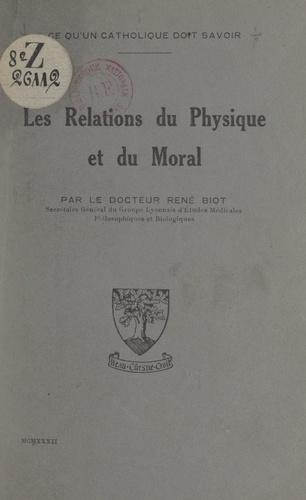 Les relations du physique et du moral