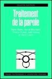 René Boite - Traitement de la parole.