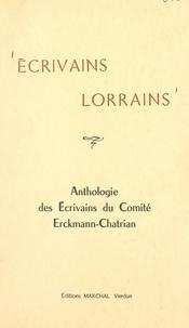 René Bour et Sylvette Brisson - Écrivains lorrains - Anthologie des écrivains du comité Erckmann-Chatrian.