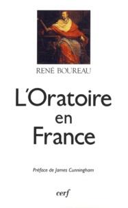 René Boureau - L'Oratoire en France.